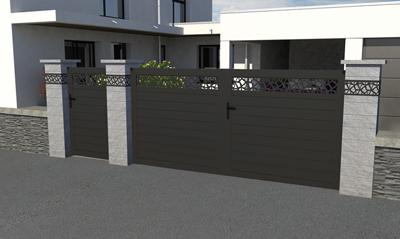 pose de portail automatique sedan portail manuel ardennes. Black Bedroom Furniture Sets. Home Design Ideas